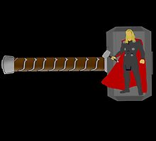 Just Thor by ThePeacockMan