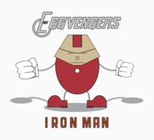 Eggvengers - Iron Man T-Shirt
