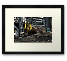 Oil tanker Framed Print