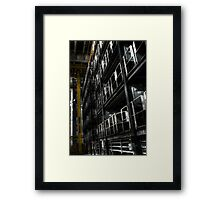 Access gates Framed Print