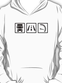 Trucker icons T-Shirt
