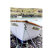 Fishing Boat In Cornwall Photographic Print