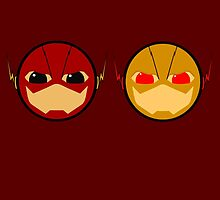 The Flash VS Reverse Flash by ThePeacockMan