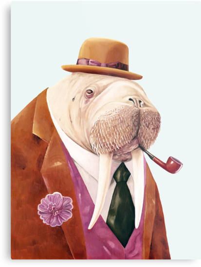Worldly Walrus by AnimalCrew