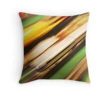 Speeding Bullet Throw Pillow