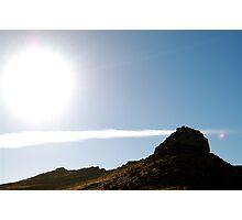 Land Sun and Sky. Photographic Print