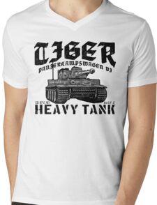 Tiger I Mens V-Neck T-Shirt