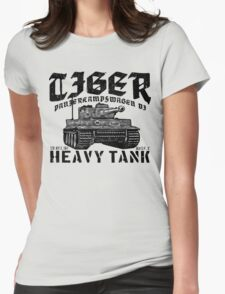 Tiger I Womens Fitted T-Shirt