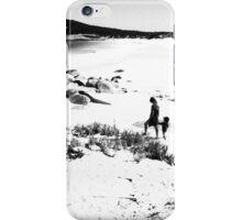 Coastal imaginarium in monochrome iPhone Case/Skin