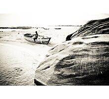 Passing the Time, Lake Malawi Photographic Print