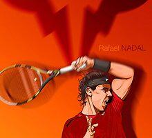 Rafael Nadal by ayushyaduvanshi