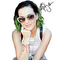Katy Perry Signature Photographic Print