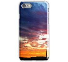 Amazing sky.. Colors iPhone Case/Skin