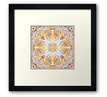 Shining Crosses Framed Print