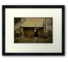 Boyerine School House, Wagin, W.A. Framed Print