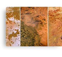 Exploring Scale - Sand. Canvas Print