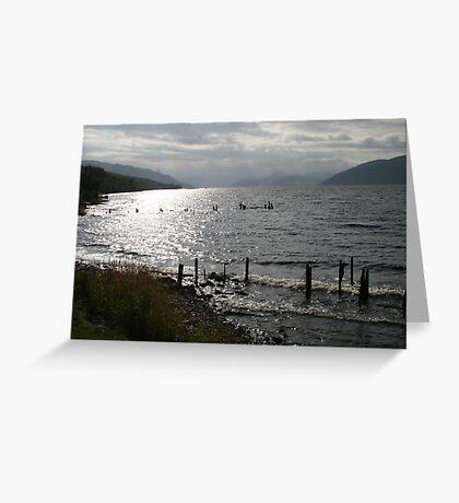 'Loch Ness' Greeting Card