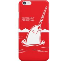 Surfacing Arctic Peppermint Narwhal iPhone Case/Skin