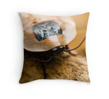Brazilian Cockroach Throw Pillow