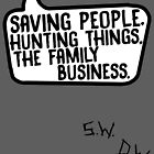 Family Business (with initials) by LeaGerard