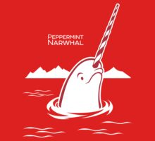 Surfacing Arctic Peppermint Narwhal Kids Clothes