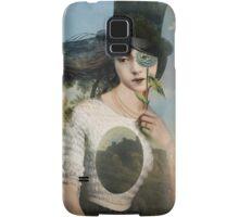 Portrait 11 with Hat Samsung Galaxy Case/Skin