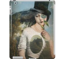 Portrait 11 with Hat iPad Case/Skin