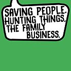Family Business (no initials) by LeaGerard