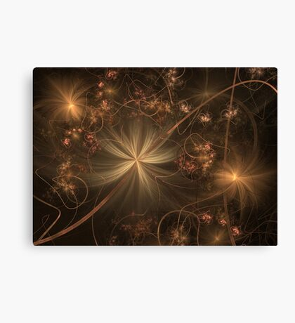 Once Upon A Faded Memory Canvas Print