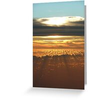 Sunset Indonesia Greeting Card