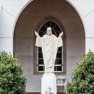 Statue of Jesus by dbvirago