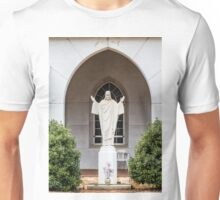 Statue of Jesus Unisex T-Shirt