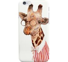 Lady Giraffe iPhone Case/Skin