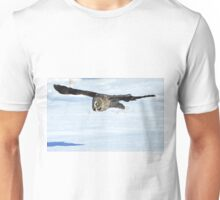 Great Grey Hunting Sequence 1 Unisex T-Shirt