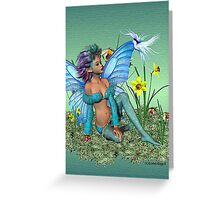 The Enchanting Shelly Greeting Card