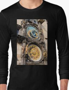 Astronomical Clock in Prague Long Sleeve T-Shirt