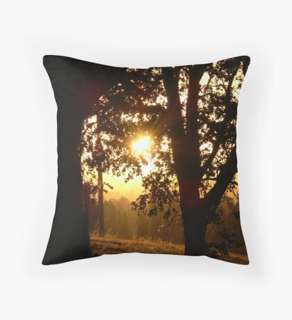 Mystic Glade Throw Pillow