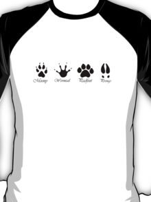 Moony, Wormtail, Padfoot and Prongs T-Shirt