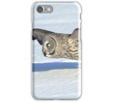 Great Grey Hunting Sequence 2 iPhone Case/Skin