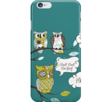 Hoot Hoot Hooray! iPhone Case/Skin