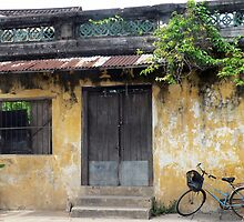The bicycle, Hoi An, Vietnam by John Mitchell