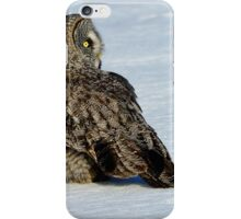 Great Grey Hunting Sequence 5 iPhone Case/Skin