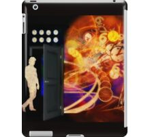 Open The Door To Time Travel iPad Case/Skin