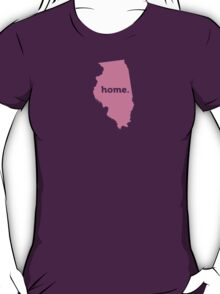 Illinois Home Pink T-Shirt