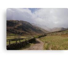 Mickleden Canvas Print