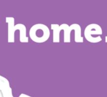 Illinois Home Purple Sticker