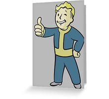 Classic Pip Boy Greeting Card