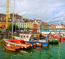 Cobh Town in Ireland by Artur Bogacki
