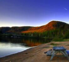 Lakeside Serenity by Nicolas Raymond