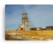 Prairie Landmark Metal Print
